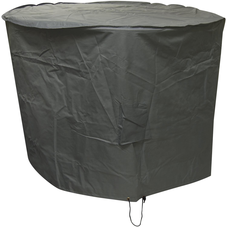 Oxbridge Large Round Patio Set Cover Grey Covers