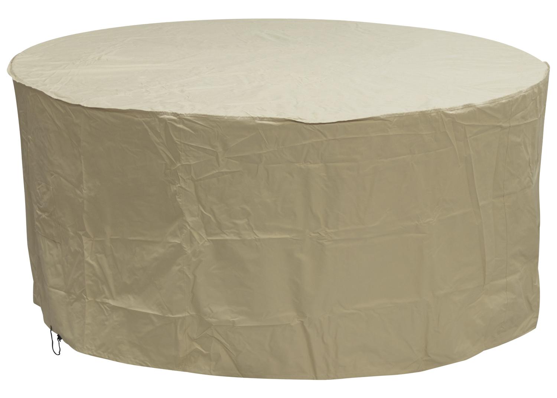 Oxbridge Large Round Patio Set Cover Sand