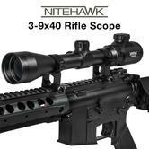 Nitehawk Air Rifle Scope ? 3-9x40 (4.4mm-13.3mm)