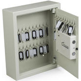 Hausen Wall Mounted Key Cabinet Safe ? 48 KEY