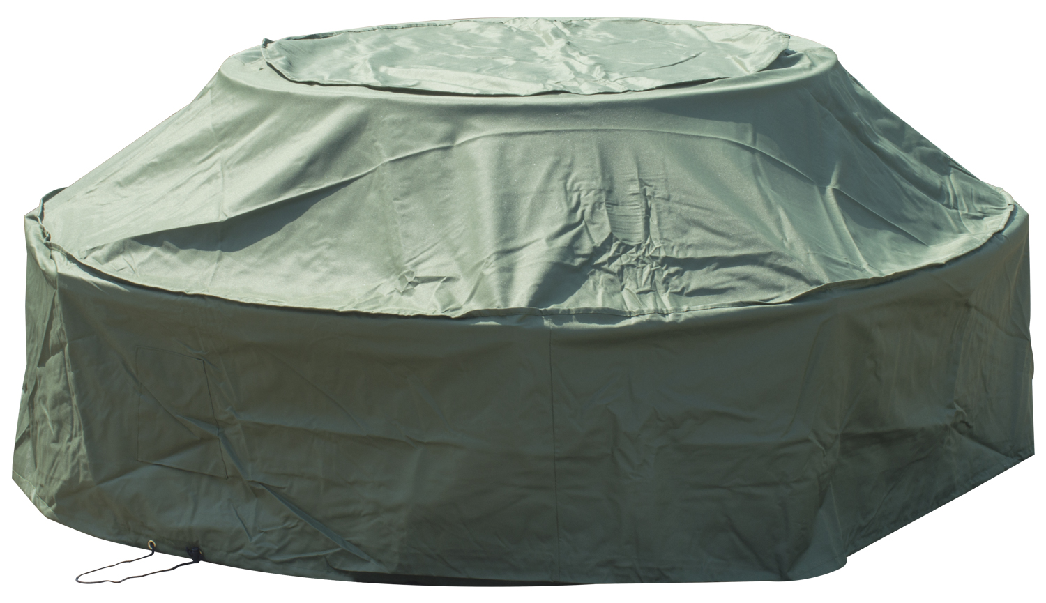 Woodside Seater Round Picnic Table Cover GREEN Covers Outdoor - 8 seater round picnic table