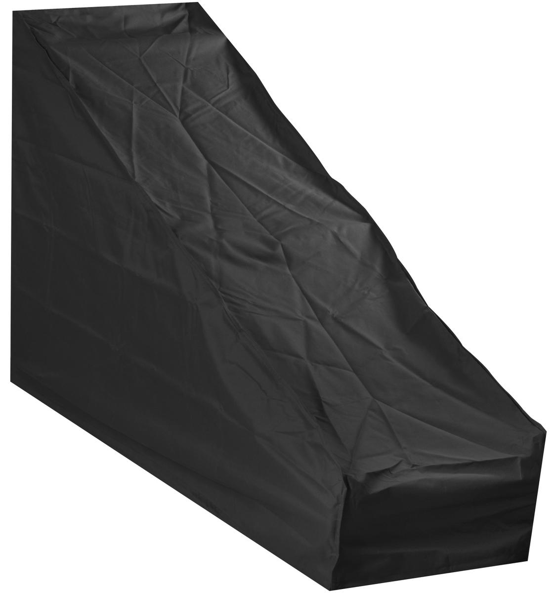 Woodside Large Protective Lawn Mower Cover BLACK