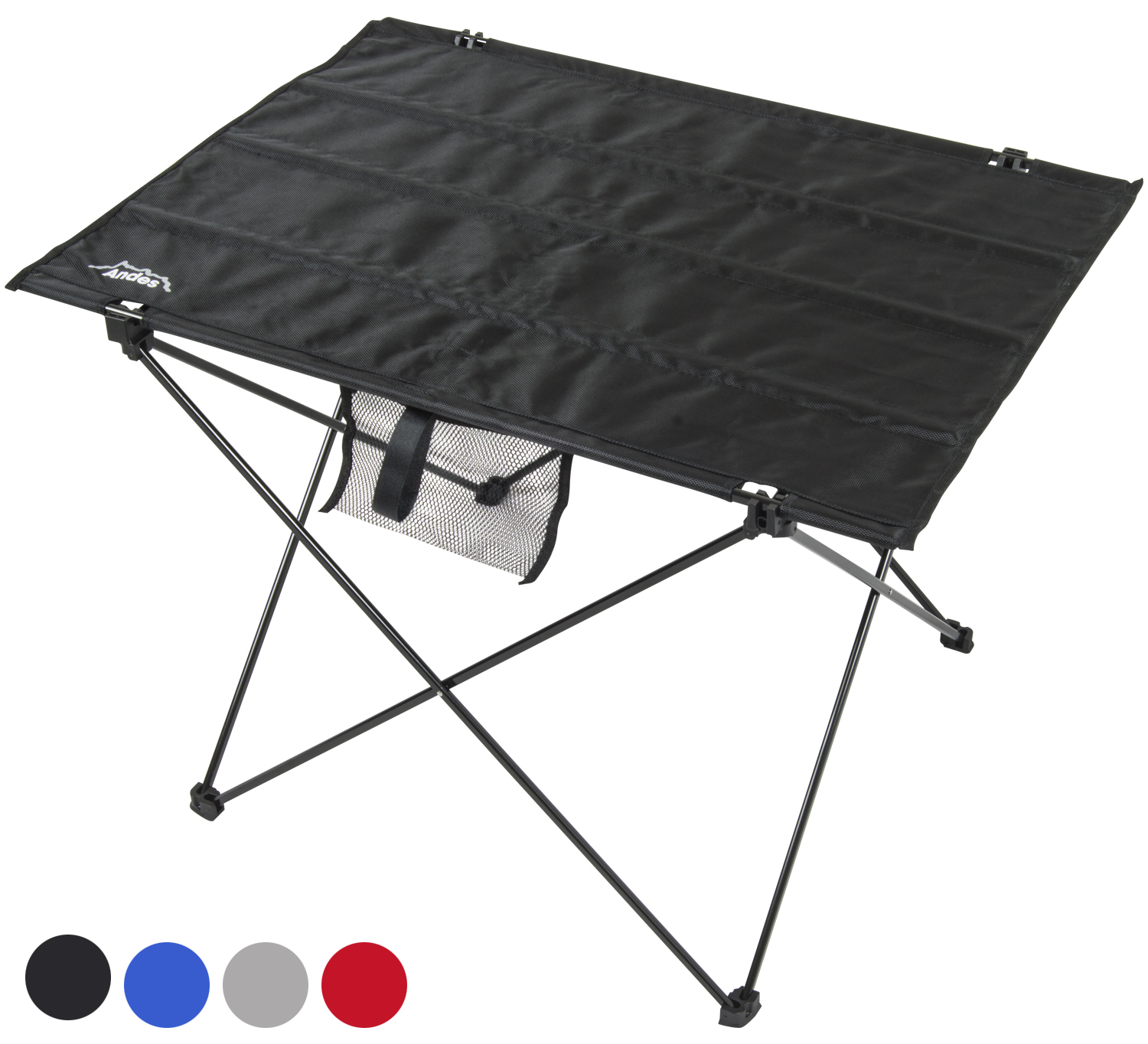 Andes ultralight folding camping table andes outdoor value - Lightweight camping tables ...