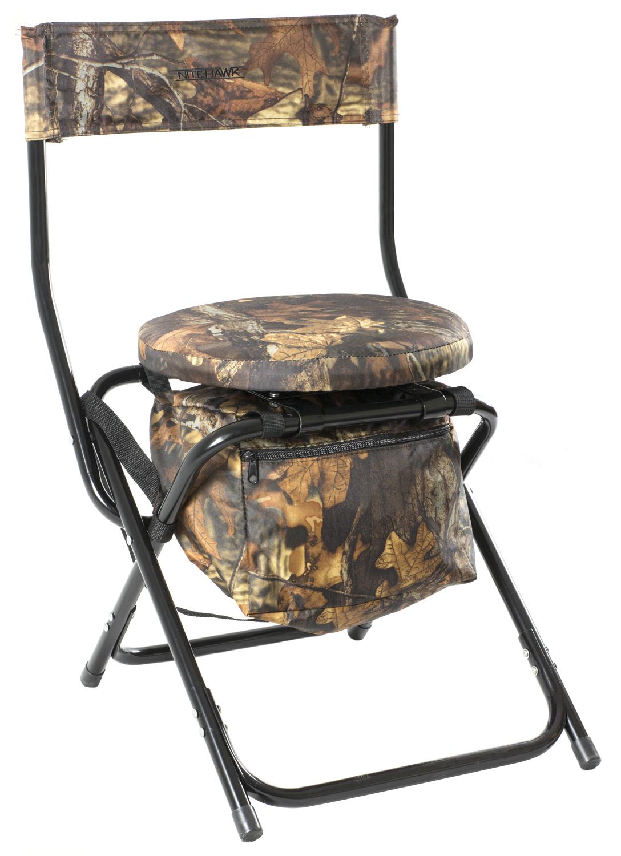 Nitehawk Camouflage Hunting 360 Swivel Seat Pigeon