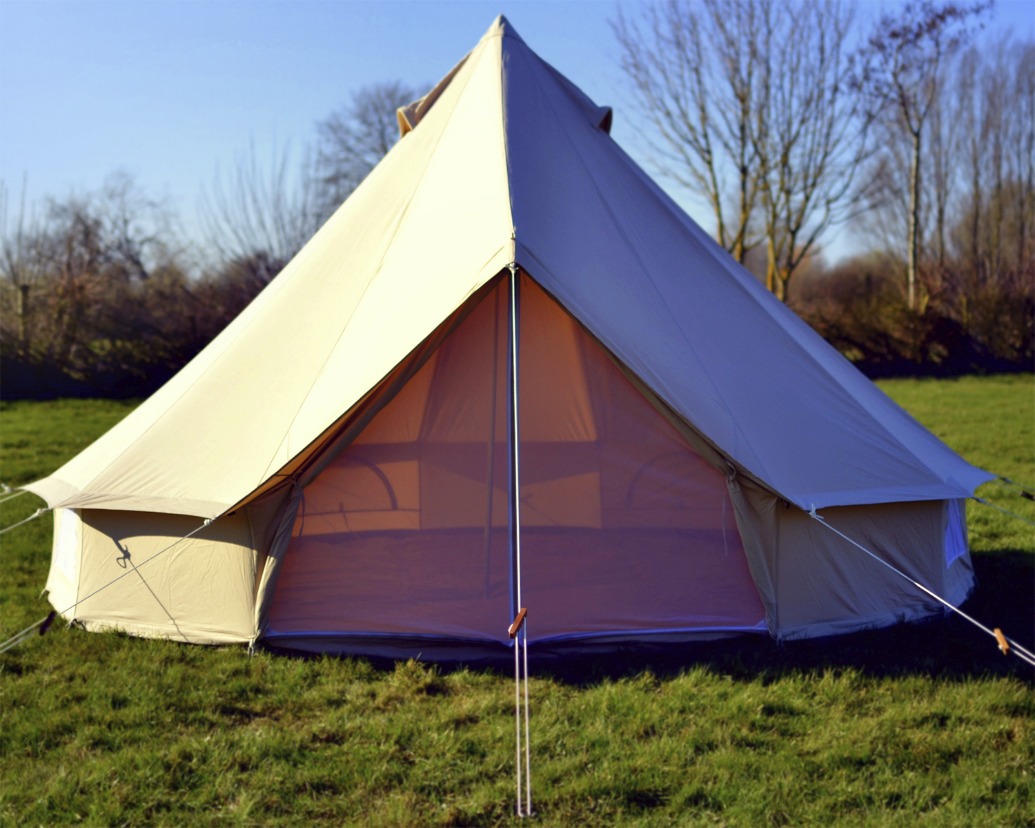 4m ZIG Canvas Bell Tent & 4m ZIG Canvas Bell Tent | Tents u0026 Awnings | Outdoor Value