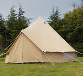Andes 4m ZIG Canvas Bell Tent