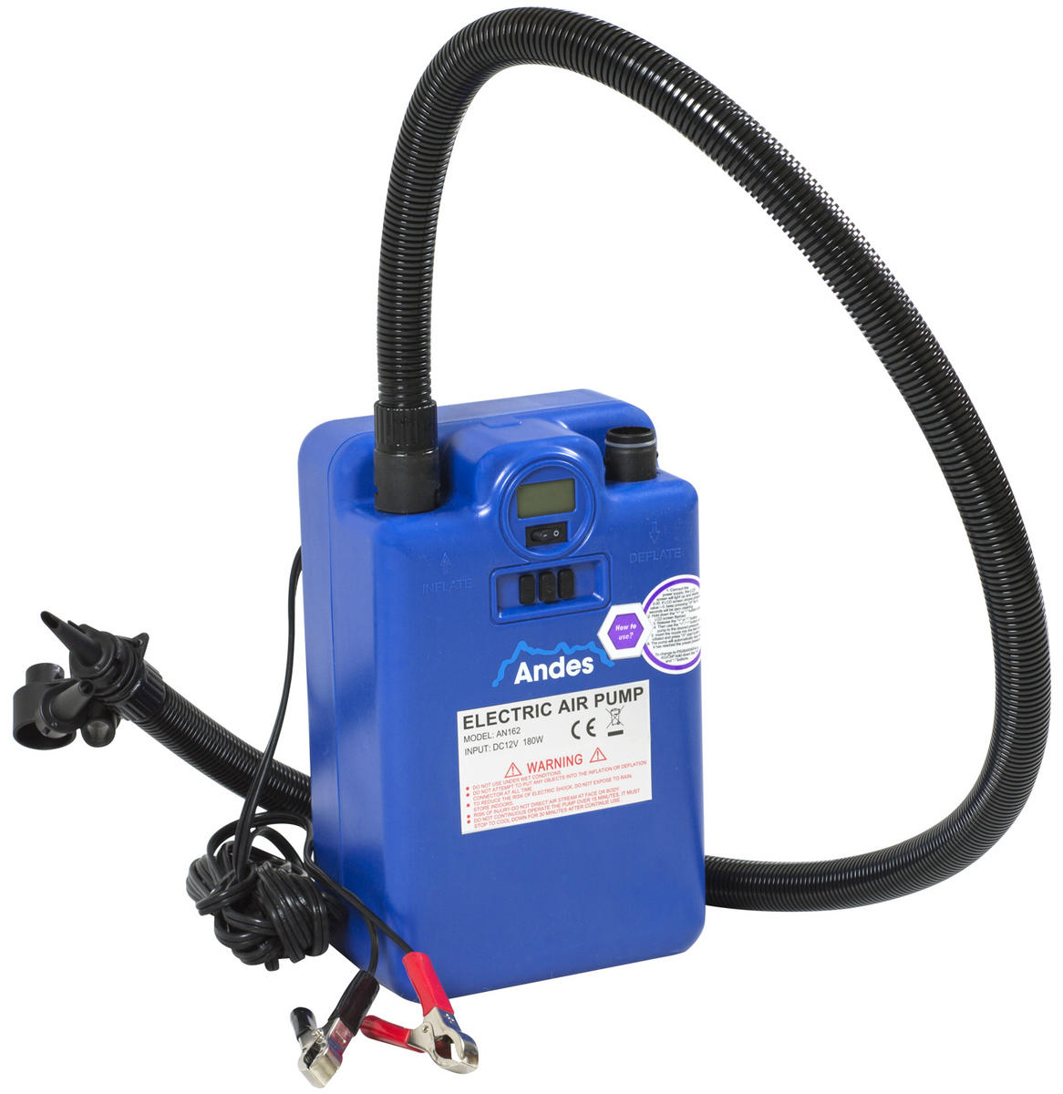 Andes 12V Two Stage Pump