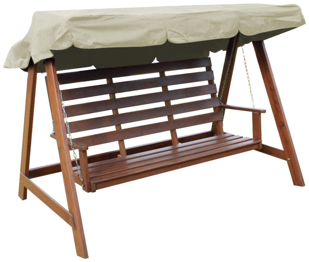 Woodside Swing Chair Replacement Canopy Cream