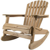 Woodside Rocking Adirondack Chair