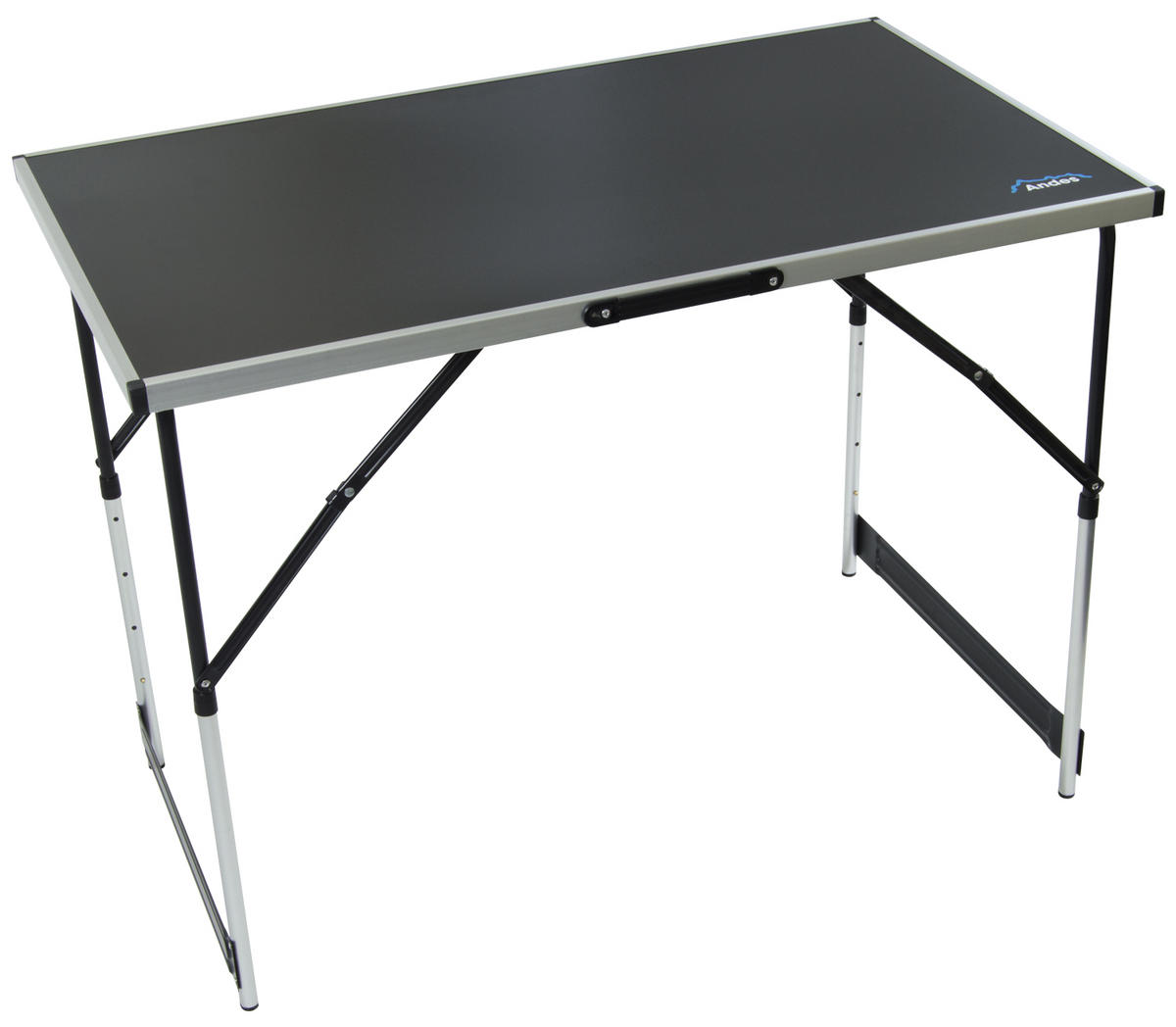 andes camping aluminium folding table andes outdoor value. Black Bedroom Furniture Sets. Home Design Ideas