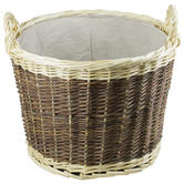 Woodside Wicker Log Basket