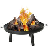 Woodside Metal Fire Bowl