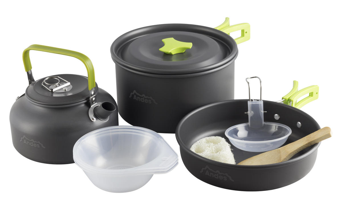 Andes Camping Cookware Kit