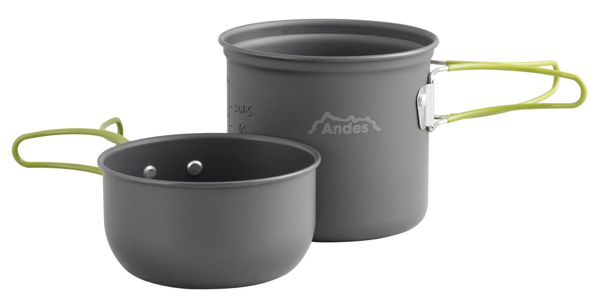 Andes 1-2 Person Camping Cookware Kit