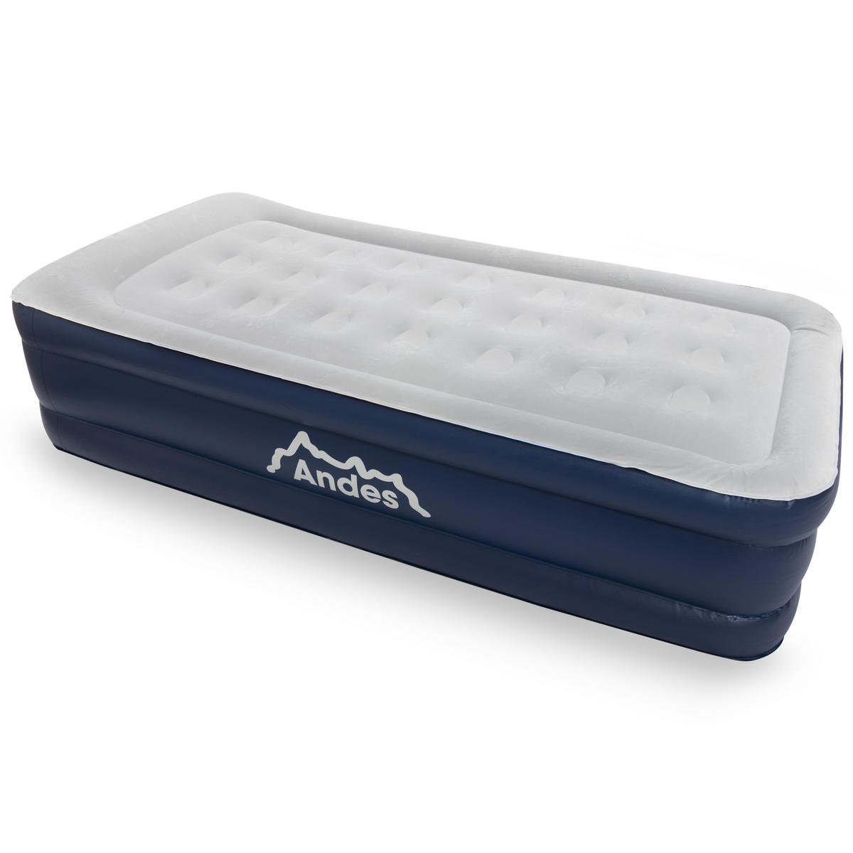 Andes Flocked Inflatable Single Mattress