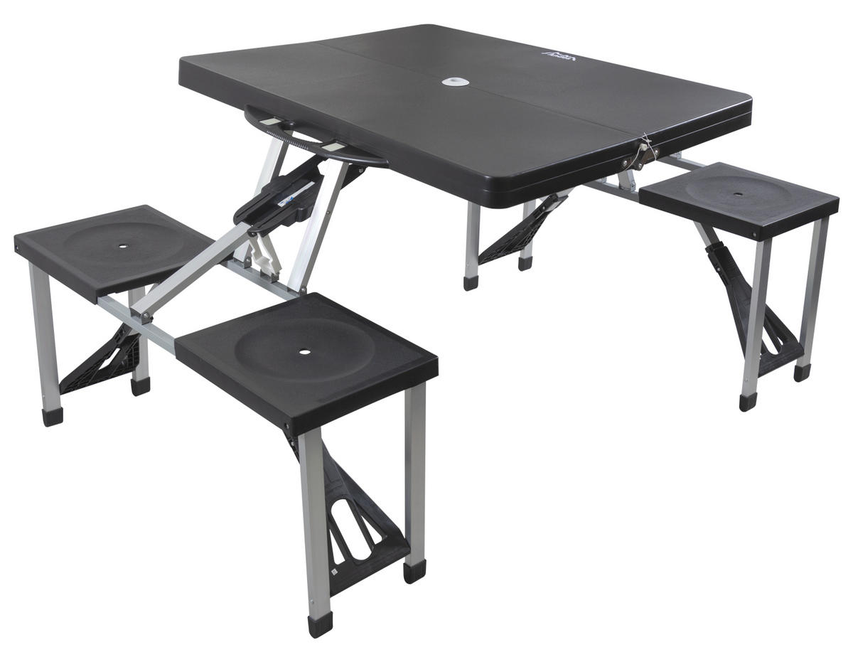 Andes Plastic Folding Table & Chair Set