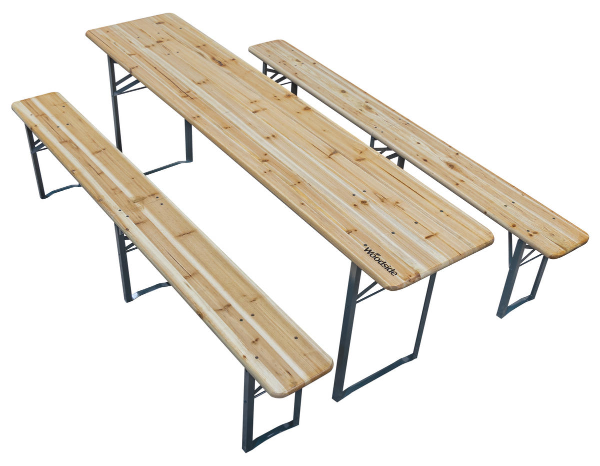 Woodside Wooden Beer Table & Chair Set