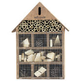 Woodside Wooden Insect Bee House BROWN