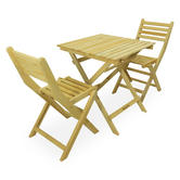 Woodside Wooden Table & Chair Set
