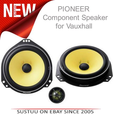 PIONEER TS Q172C 17 cm 220w In Car Vehicle Audio Sound Speaker Thumbnail 1