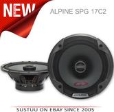 New Alpine SPG 17C2?2-Way Coaxial In Car Sound Speaker?Type G?17cm?240 Watt