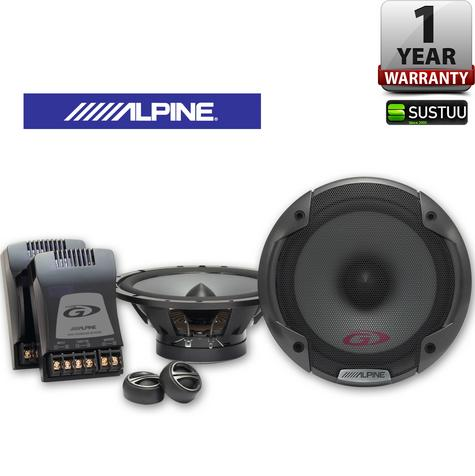ALPINE SPG 17CS 17cm Component 2 Way In Car Vehicle Audio Sound Speaker Thumbnail 1