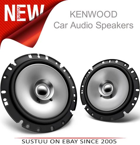 KENWOOD KFC E1755 17cm In Car Vehicle Audio Sound Speaker Thumbnail 1