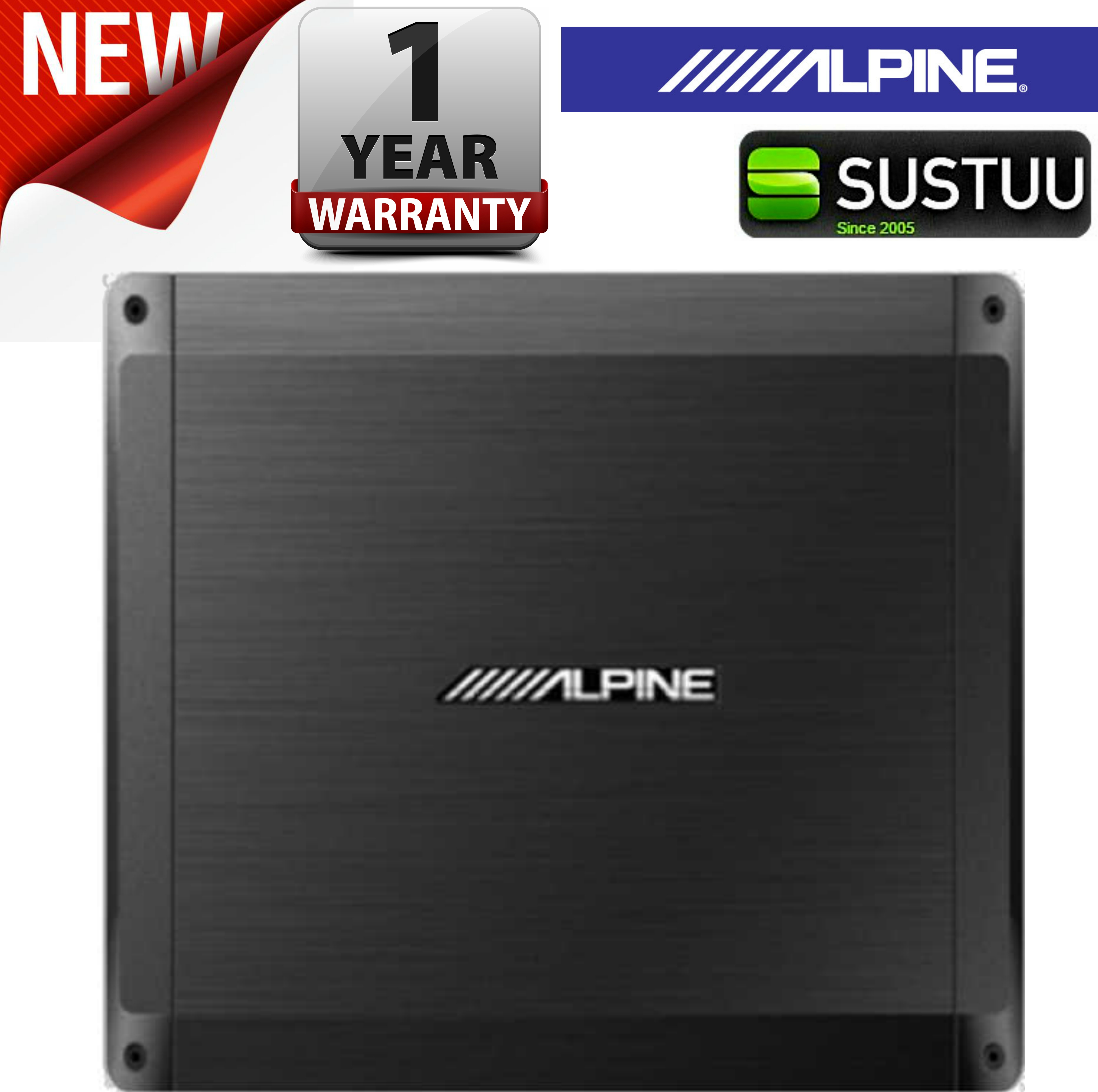 Alpine BBX T600 Power Class A/B Amp 2 Channel Car Sound Audio Amplifier System
