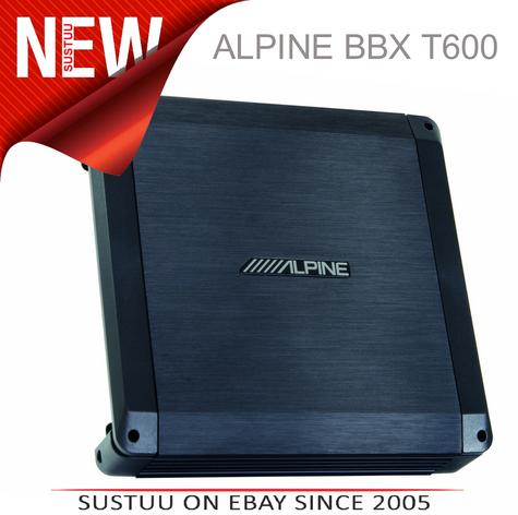 Alpine BBX T600 Power Class A/B Amp 2 Channel Car Sound Audio Amplifier System Thumbnail 1