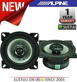 "Alpine SXE 1025S 10cm 4"" 2 Way Coaxial  Car Audio Sound Speaker 180W Max NEW"