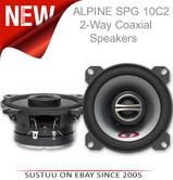 Alpine SPG 10C2|2-Way Coaxial Car Audio Sound Speakers|10cm|180W|1 YEAR WARRANTY