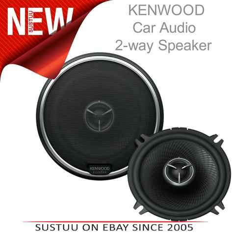 KENWOOD KFC X133 130mm 2 Way In Car Vehicle Audio Sound Speaker Thumbnail 1