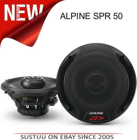 ALPINE SPR 50 13cm 2 Way 270W In Car Vehicle Audio Sound Speaker Thumbnail 2