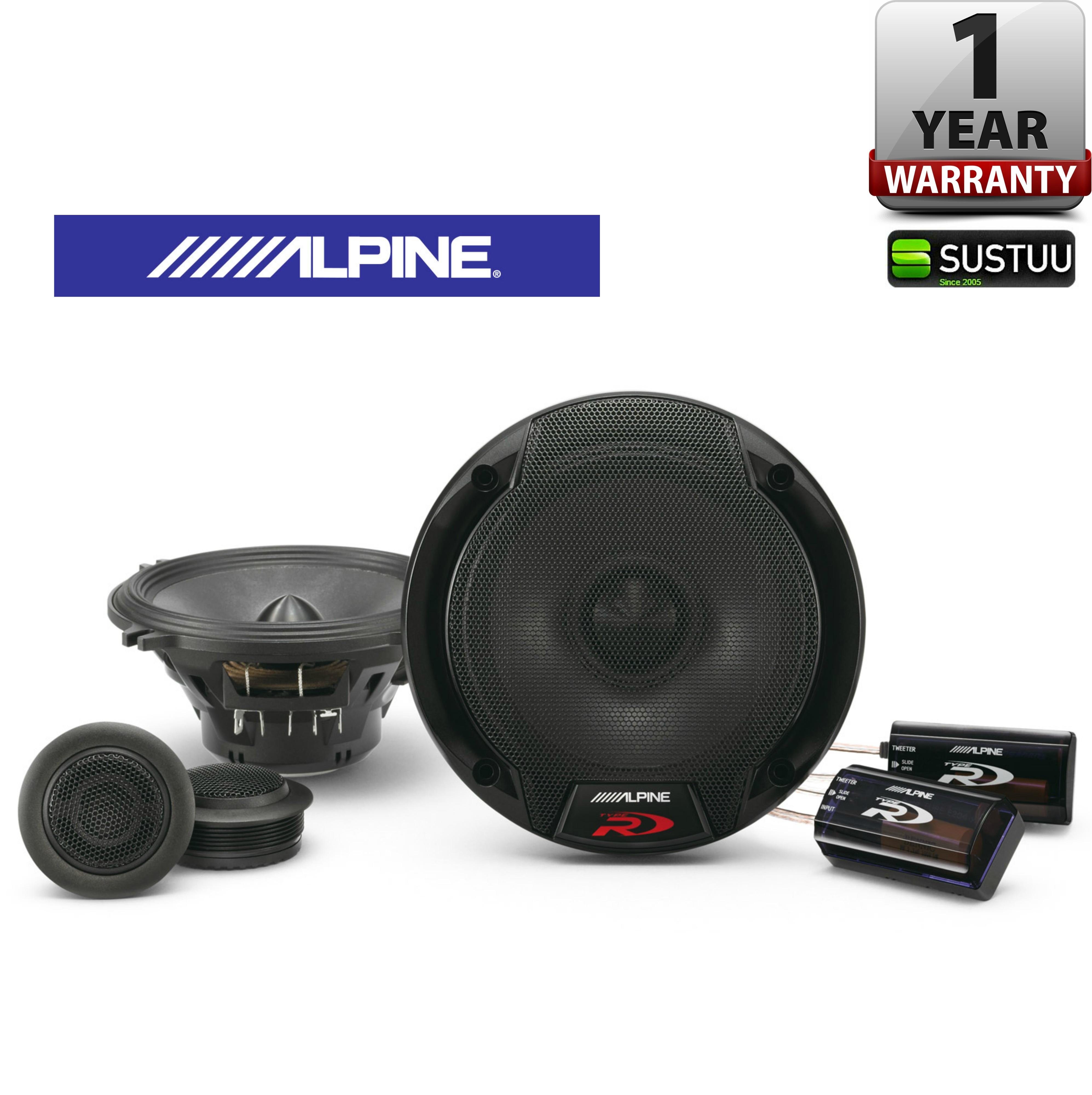 ALPINE SPR 50C 13cm 2 Way 300W In Car Vehicle Audio Sound Speaker