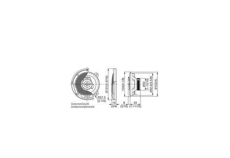 KENWOOD KFC E1065 100mm In Car Vehicle Audio Sound Speaker Thumbnail 3