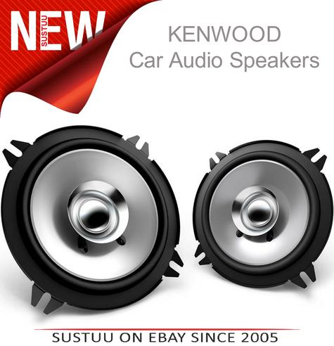 KENWOOD KFC E1355 130mm In Car Vehicle Audio Sound Speaker Thumbnail 1