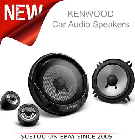 "KENWOOD KFC-E130P 13cm 5.25"" 250W In Car Vehicle Audio Component System Speakers Thumbnail 1"