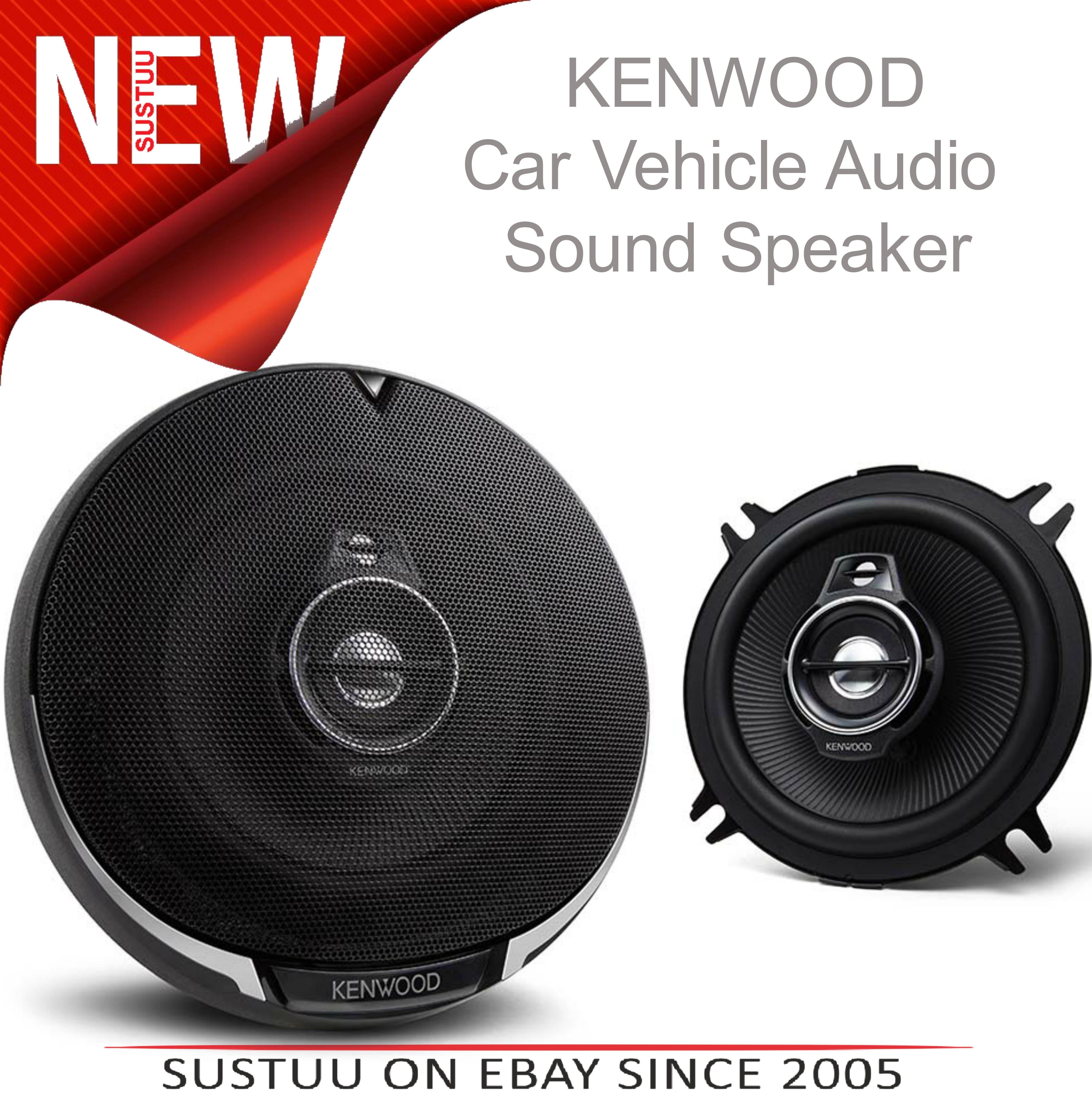 KENWOOD KFC PS1395 130mm 3 Way In Car Vehicle Audio Sound Speaker