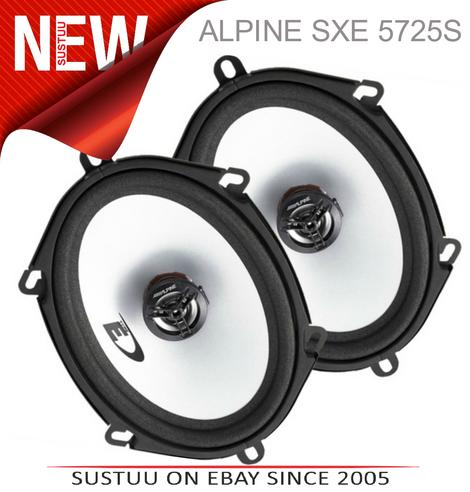 "Alpine SXE 5725S 5""x7"" Custom Fit Car/Van Door 2-Way Coaxial Speaker 1yrWARRANTY Thumbnail 1"