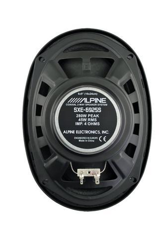"Alpine SXE 6925S 2-way Coaxial Car Audio Sound Speaker 6""x9""Custom fit 1500W Max Thumbnail 4"