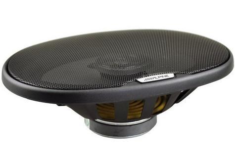 "Alpine SXE 6925S 2-way Coaxial Car Audio Sound Speaker 6""x9""Custom fit 1500W Max Thumbnail 2"