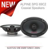 Alpine SPG 69C2 300W 2-Way Coaxial 6x9 Audio Speaker for car NEW 1 Yr WARRANTY
