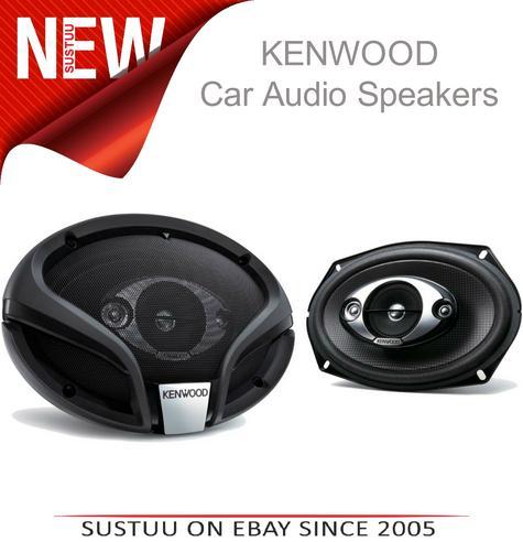 KENWOOD KFC M6944A 3 Way Flush Mount In Car Vehicle Audio Sound Speaker Thumbnail 1