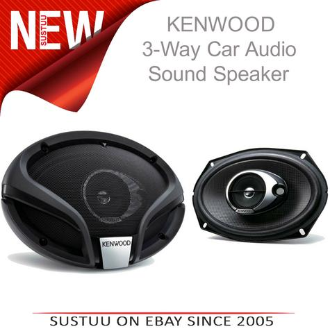 KENWOOD KFC M6934A 3 Way Flush Mount In Car Vehicle Audio Sound Speaker Thumbnail 1