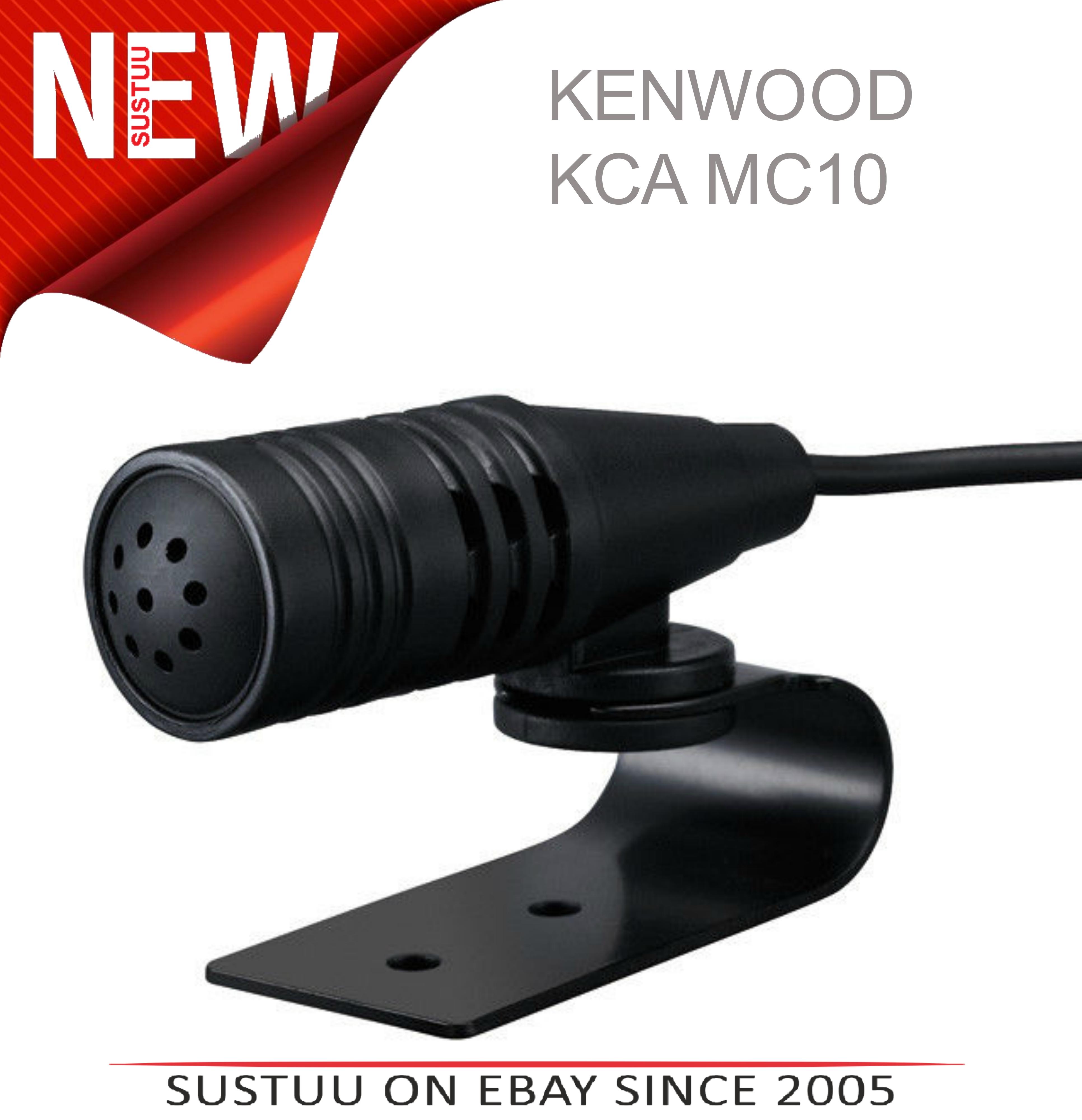 Kenwood High Sensitive External Bluetooth Microphone | 3 Mtr Cable [Mono] | KCA  MC