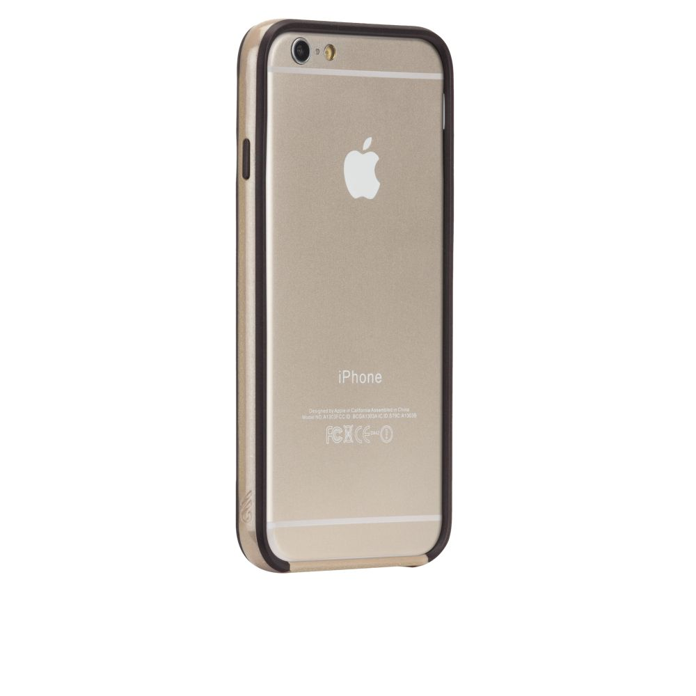 Case-Mate Ultra Slim Bumper Protective Cover Case for iPhone 6 6s 7 7S Black NEW