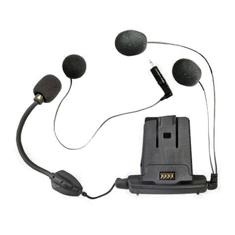 Cardo SCALA RIDER Helmet Audio & Microphone / Mic Kit with Hybrid & Corded Booms for Q1 Q3 Qz Units Thumbnail 3
