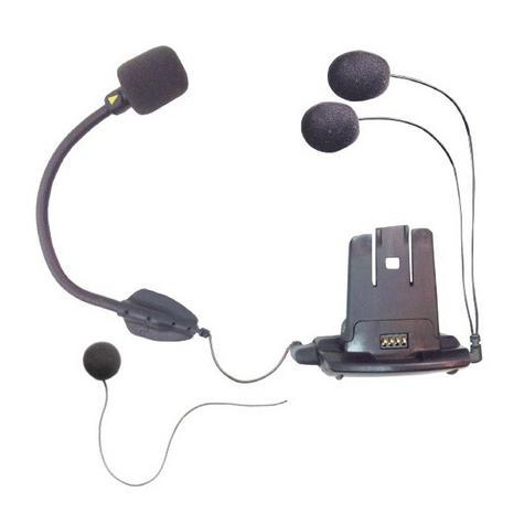 Cardo SCALA RIDER Helmet Audio & Microphone / Mic Kit with Hybrid & Corded Booms for Q1 Q3 Qz Units Thumbnail 2