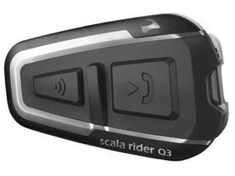 Cardo Scala Rider Q3 Solo Bluetooth Headset |  Motorcycle / Bike Helmet Intercom |  Black Thumbnail 6
