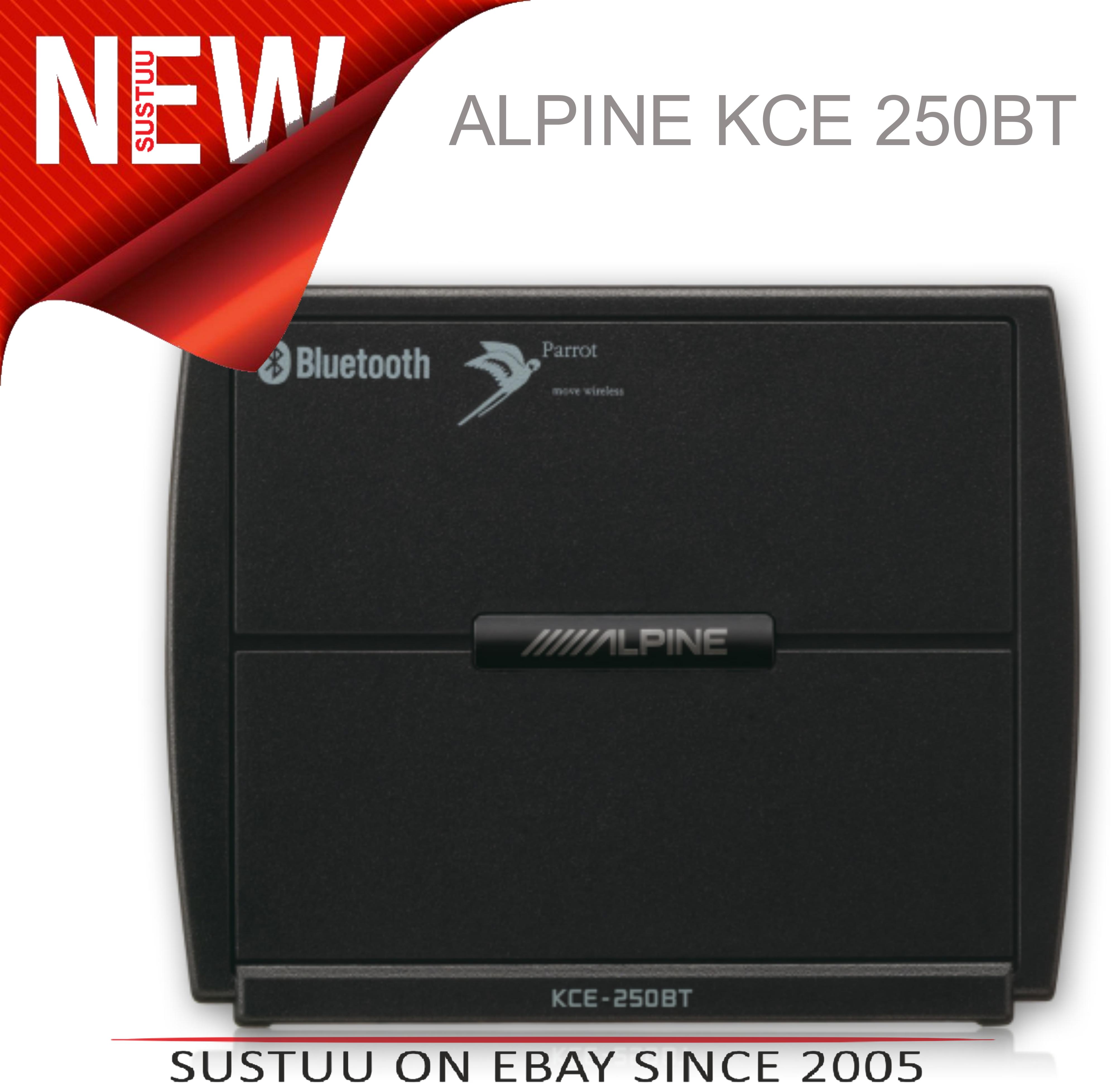Alpine KCE 250BT PARROT BluetoothV2.0 Car Stereo IDA IXA IVA CDA LifeTime Update